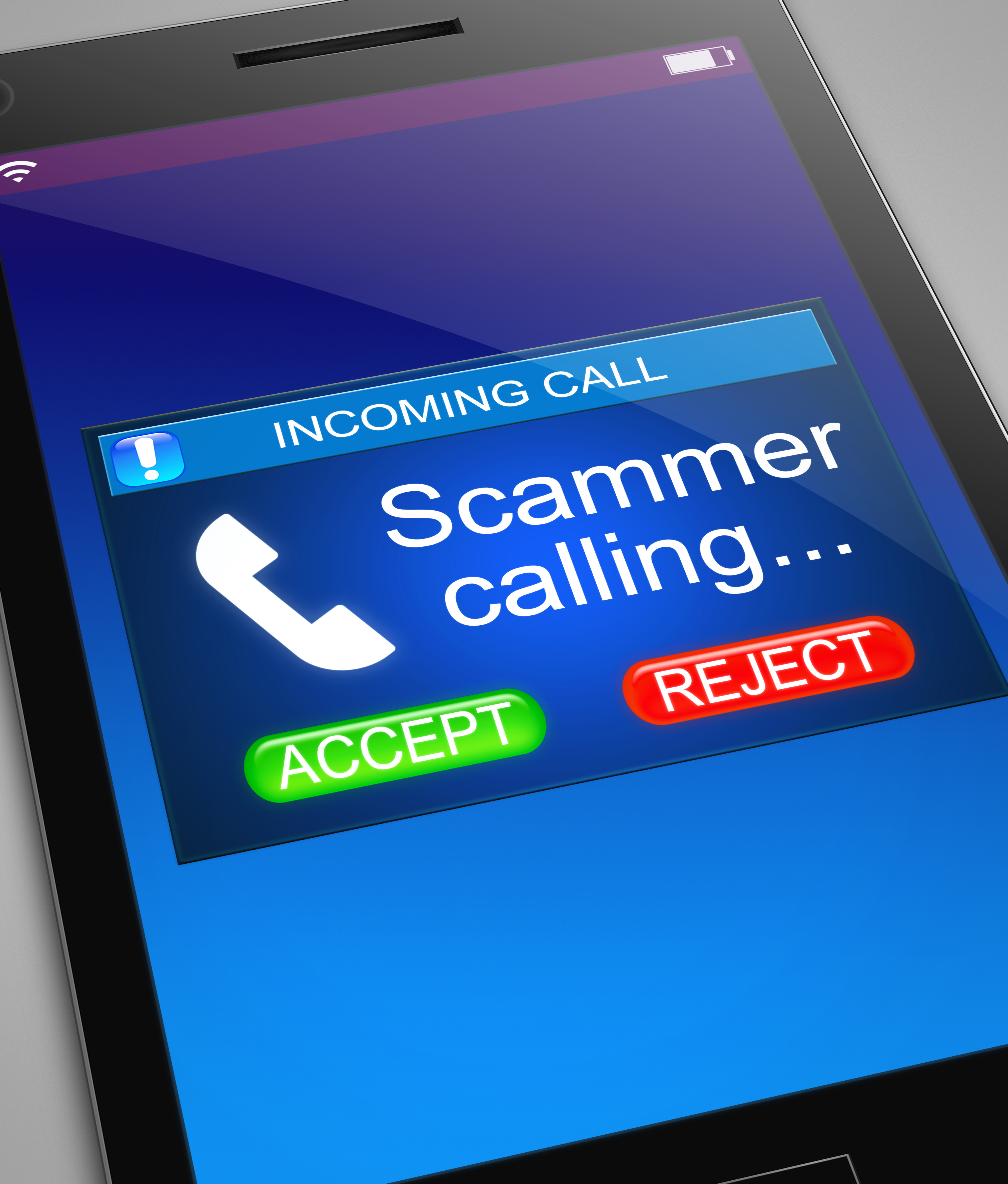 Wouldn't it be nice if the  phone id actually was that accurate for every call? Image courtesy of Adobe Stock.